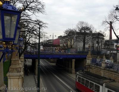 Самый старый мостик в Кракове