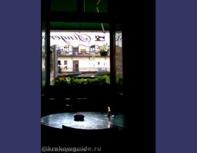 Вид из кафе