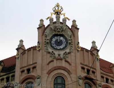 Часы модерн