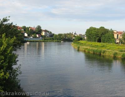 Краков - Вид на Вислу