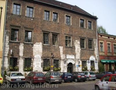 Казимеж, старый каменный дом
