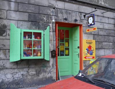 Краковский сувенирный магазинчик