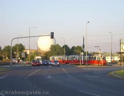 Рядом с Грюнвальдским мостом