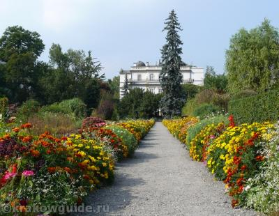 Ботанический сад в Кракове