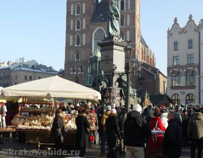 Краков Рыночная площадь