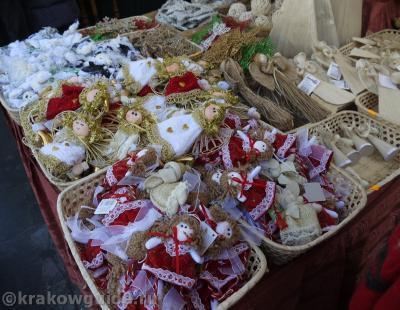На рождественской ярмарке в Кракове