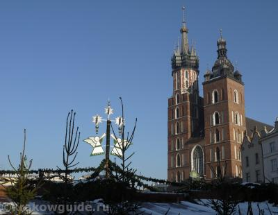 Мариацкая Базилика зимой
