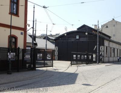 Старое трамвайное депо