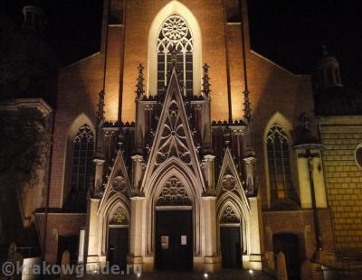 Краков - Базилика Святой Троицы