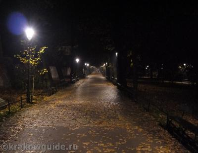 Краковский парк Планты