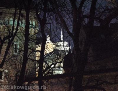 Фрагмент крепостной стены Кракова