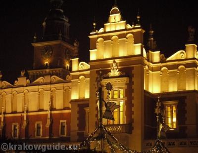 Суконные ряды и Ратушная башня Краков