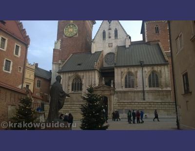 Вид на Кафедральный Собор Краков