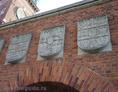 Гербовые ворота - Вавель