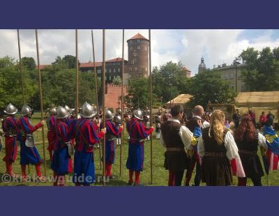 Рыцари у Вавеля