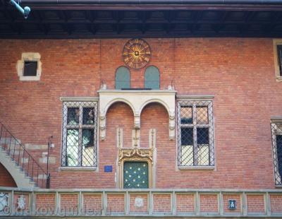 Часы в Collegium Maius