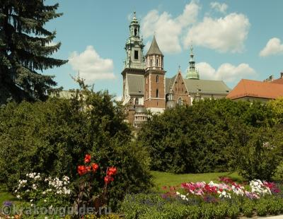 Вид на Краковский Кафедральный Собор