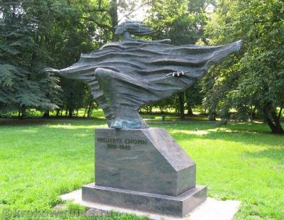 Шопен, скульптор Бронислав Хромы
