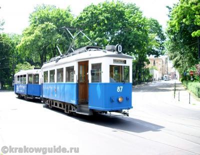 Краковский старый трамвай